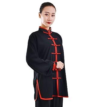 AMhuui Traje de Tai Chi Unisex, Ropa de Kung Fu Traje Unisex ...
