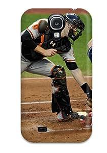 High Grade DanRobertse Flexible Tpu Case For Galaxy S4 - Cleveland Indians