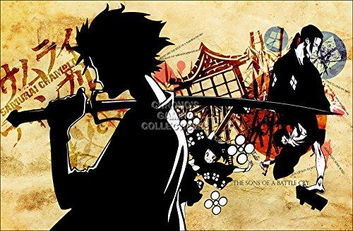 (CGC Huge Poster - Samurai Champloo Anime Poster Samurai Chanpur? - ANI275 (24