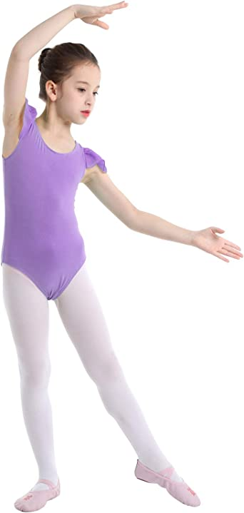 Freebily Maillot Danza Ballet Niña Leotardo Elástico de Gimnasia ...