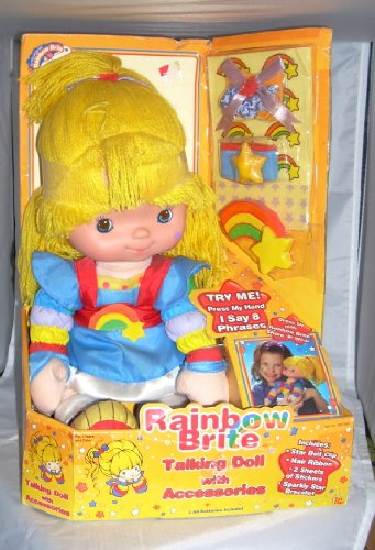 Rainbow Brite Talking Doll with Accessories