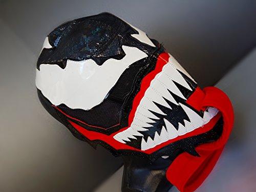 VENOM WRESTLING MASK LUCHADOR COSTUME WRESTLER LUCHA LIBRE MEXICAN MASKE -