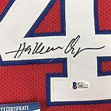 Autographed/Signed Hakeem Akeem Olajuwon Houston