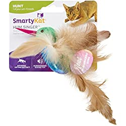 SmartyKat Hum Singer Electronic Sound Cat Toy