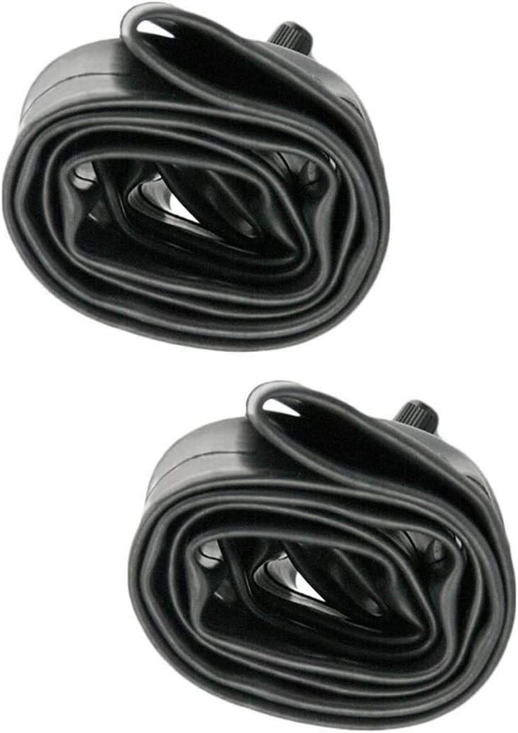 Helonge 24 Inch Bike Inner Tube,2 Pack 24 x 1.95-2.125 Bicycle Tire Tube 34mm Schrader Valve