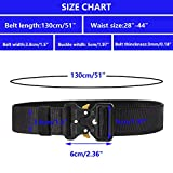Ginwee 3-Pack Tactical Belt,Military Style