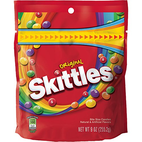 Skittles Original Candy, 9 ounce bag]()