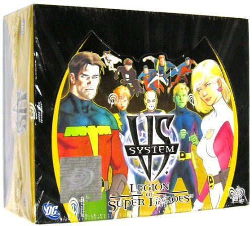 Upper Deck Booster Box - DC VS System Trading Card Game Legion of SuperHeroes Booster Box 24 Packs