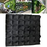 Mr. Garden Vertical Garden Grow Bag, Wall Hanging Planter Bag (36, green)