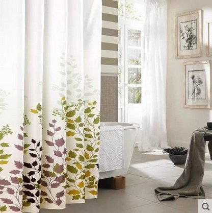 Sfoothome Waterproof Washable Polyester Bathroom product image