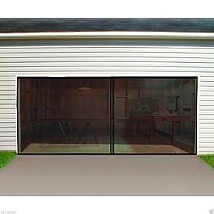 Garage door screen double car double garage door screen 16 for 24 foot garage door