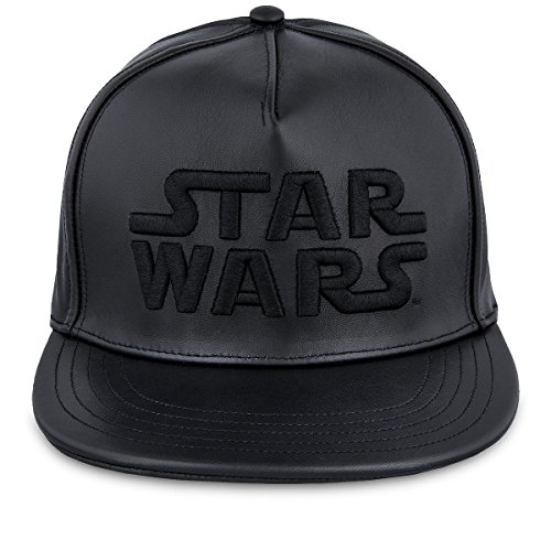 Disney Star Wars Dark Side Leather Baseball Cap Limited Edition - Wars Star Hat Leather