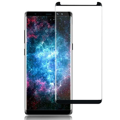 Samsung Galaxy Note 8 Screen Protector, QIANXINAG Tempered Glass Screen Protective Film HD Clear/Anti Scratch/Bubble-Free/9H. (1 pack)