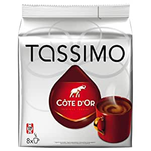 Tassimo Côte D´Or Chocolate, 16 T-Discs (8 Servings)