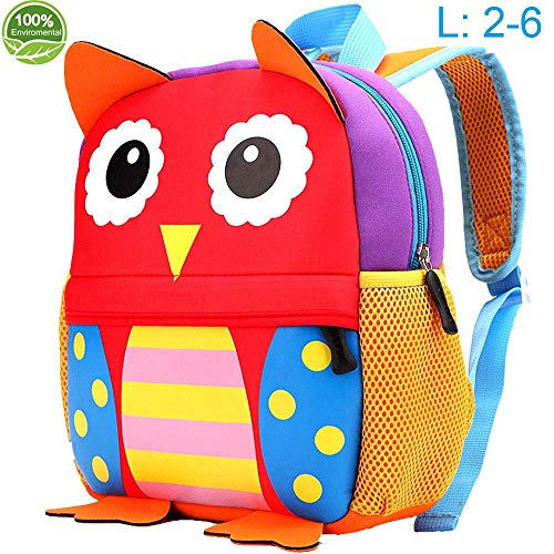 Toddler Backpack for Girls and Boys, 12.6