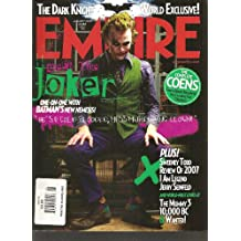 Empire Magazine - January 2008 - The Dark Knight, Sweeney Todd, Review of 2007, I Am Legend, The Complete Coens, Jerry Seinfeld (Issue 223)