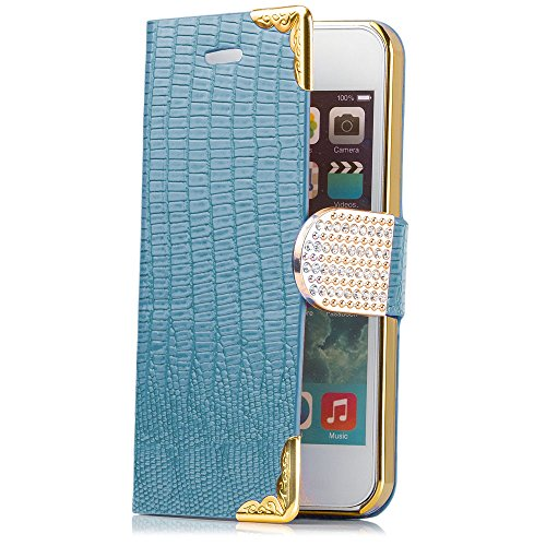 ICues aM36 aspect pierres sTRASS pour apple iPhone 5/5S