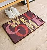 Anti Skid - Home Linen Absorbent Pillow Carpet, Mat, bathroom, kitchen, bedroom, carpet (Color e, Size: 45120cm)