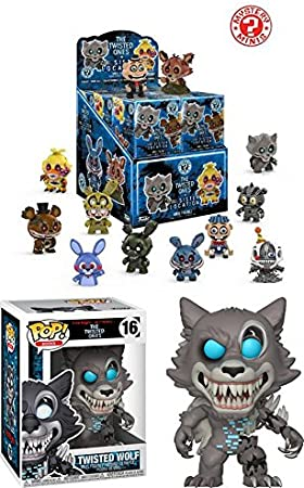 Funko Mystery Mini: Twisted FNAF (Contains 1 Blind Box)+ POP! Twisted Wolf NEW: Amazon.es: Juguetes y juegos