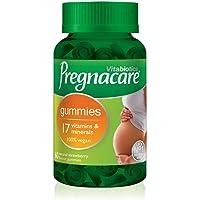 Vitabiotics Pregnacare gummi 60 jordgubbar smak vegan gummi