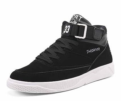 Hombres Respirable Zapatillas De Deporte 2017 Otoño Zapatos De Alta Tendencia Top Zapatos (Color :