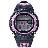 Mitaki-Japan Ladies' Digital Sport Watch - Features Include Waterproof, Stopwatch, and Alarm