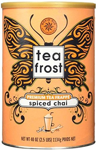 David Rio Tea Frost Premium Frappe Tea, Spiced Chai, 40 Ounce by David Rio