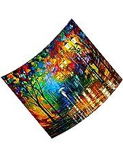 Ruiqas Landskap gobeläng polyester vägg hängande gobeläng prydnad för sovrum vardagsrum sovsal dekor