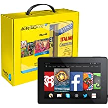 Rosetta Stone Italian Power Pack and Fire HD 7 Bundle