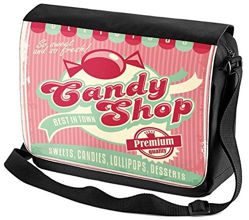 Tasche Schulter Shop Bedruckt Candy Fun Umhänge