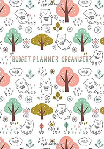 budget planner organizer financial planning journal monthly