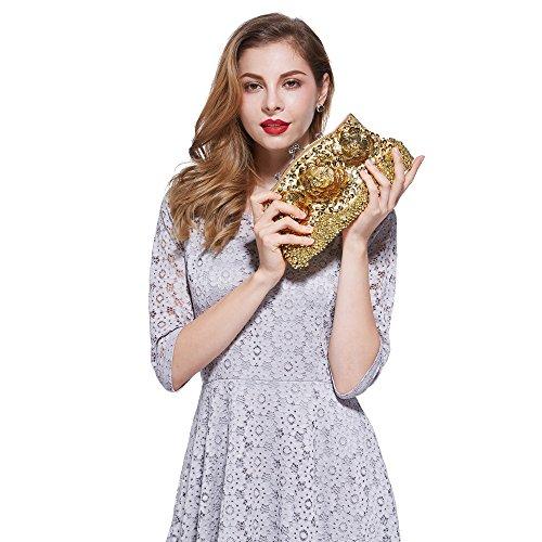 mujer AYOZEN Bolso X hombro para gold al x16Z1P