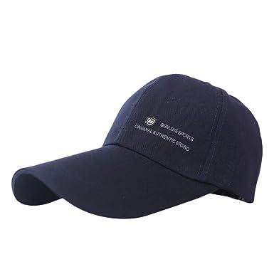 Gorra de béisbol Unisex, Unisex Hombres Mujeres Snapback Sombrero Hip-Hop Gorras Ajustables Sombrero de Lengua Gorra de Hip Hop Visera Sombrero para el ...