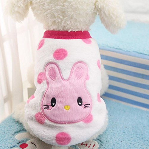 vmree Dog Apparel, Small Cat Dogs Clothing Sweater Puppy Shirt Pet Coats