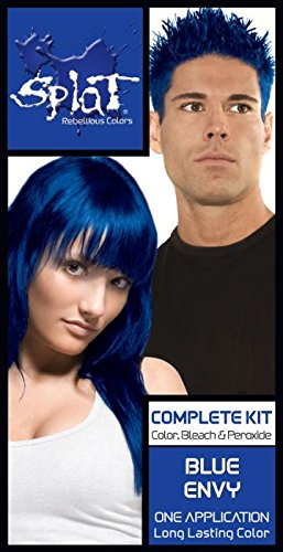 splat hair dye blue envy - 2