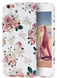 iPhone 6S Case, Imikoko™ Retro Vintage Floral Print Flower Pattern Hard High Impact Slim Protective Case For iPhone 6s/6 (Pattern A)