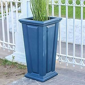27en. H. Neptune azul hardiclay de altura biselado panel elevador)
