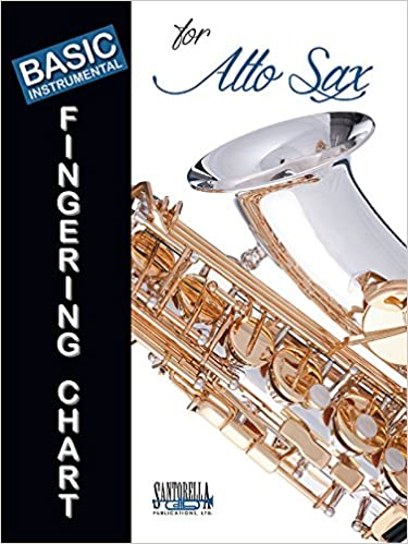 AmazonCom Basic Fingering Chart For Alto Saxophone