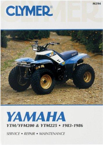 Clymer Manual Yamaha YTM/FM200-225 83-86 M394 PU M394