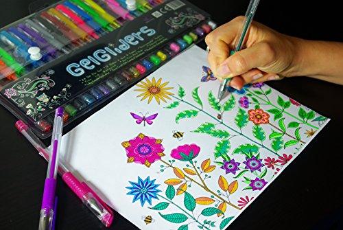 Amazon.com : Gel Pens | Rainbow Pack by Gel Gliders | 24 Colors ...