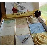 Twelve Handmade Soap Gift Set for Mom and Baby Variety Artisan Handmade Soaps