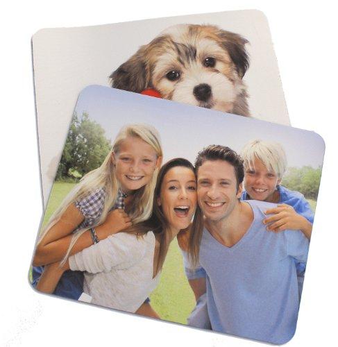 Mousepad mit eigenem Foto, individuell bedruckt mit Logo oder Motiv, 5 mm stark, 270 x 190 mm