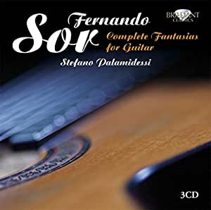 Sor: Complete Fantasias For Guitar