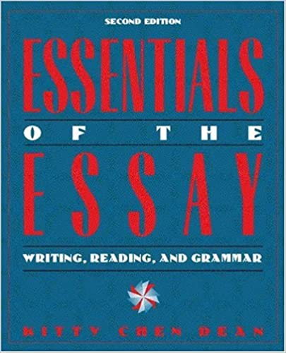Research Essay Thesis Amazoncom Essentials Of The Essay Writing Reading And Grammar Nd  Edition  Kitty Chen Dean Books Health Awareness Essay also Example Proposal Essay Amazoncom Essentials Of The Essay Writing Reading And Grammar  Essays About English