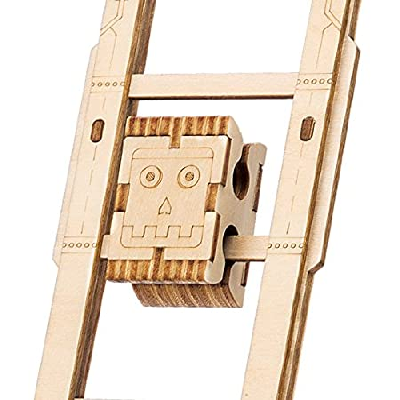 . Swing Boy ROBOTIME Wooden Craft Kits 3D Wooden Puzzle Brain Teaser Games Best Birthday Gifts for Boys and Girls