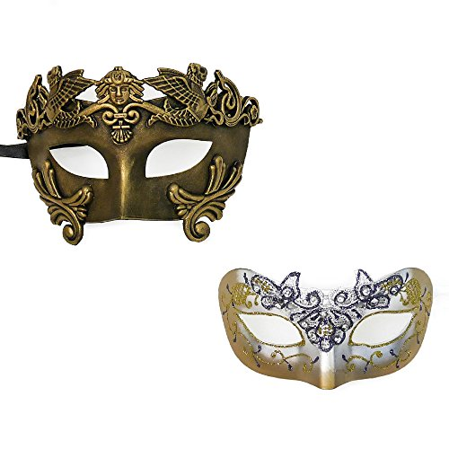 And Megara Costume Hercules (Hercules & Megara Couple Mask Venetian Masquerade Mask Event Party Ball Mardi Gars)