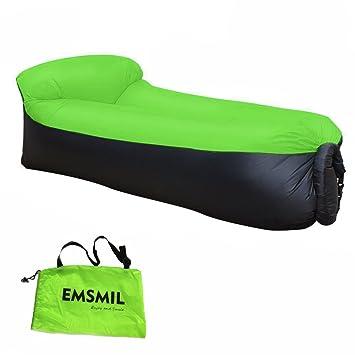 Aufblasbares Sofa Wasserdichtes Outdoor Bequem Tragbarer Schlafsäcke  Sitzsack Zum Aufblasen Luft Wind Aufblasbar Für Camping Reise
