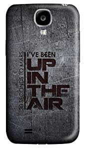 Samsung Galaxy S4 Case and Cover - Up In The Air Polycarbonate Hard Case Back Cover for Samsung Galaxy S4/ SIV / I9500