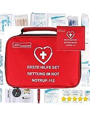 154 Botiquín de primeros auxilios para el hogar, el automóvil, el camping, el senderismo, el deporte, el trabajo,