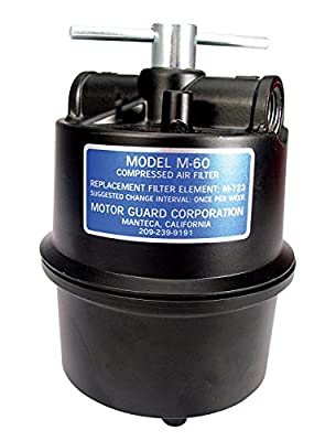 Motor Guard M-30 1/4 NPT Submicronic Compressed Air Filter